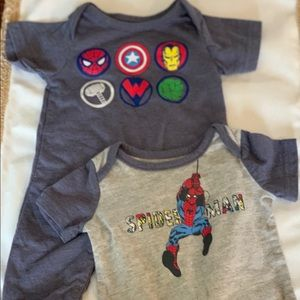Marvel set, never worn